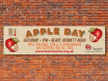 Headingley Apple Day banner