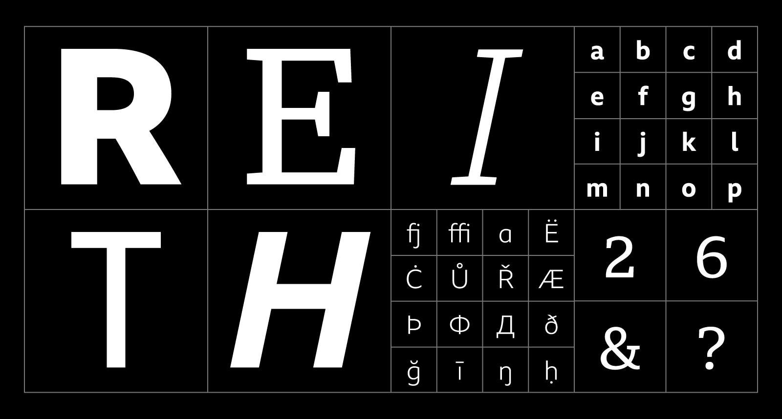 BBC Reith typeface